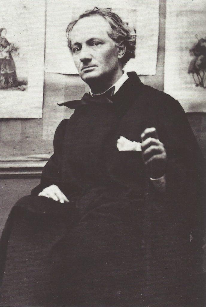 Charles Baudelaire par Gaspard-Félix Tournachon Nadar, 1862.