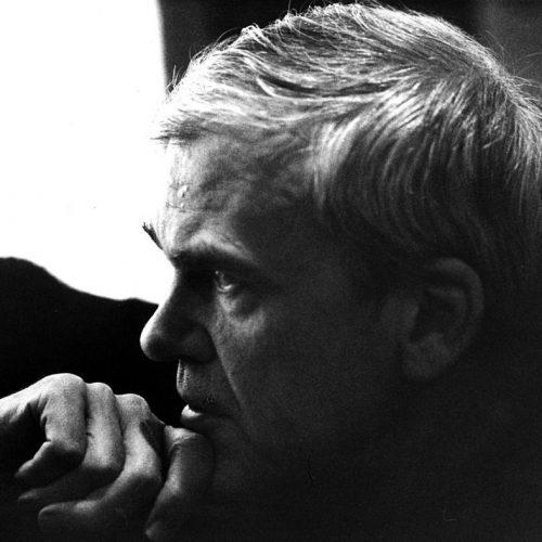 Milan Kundera. Sin Atribución.