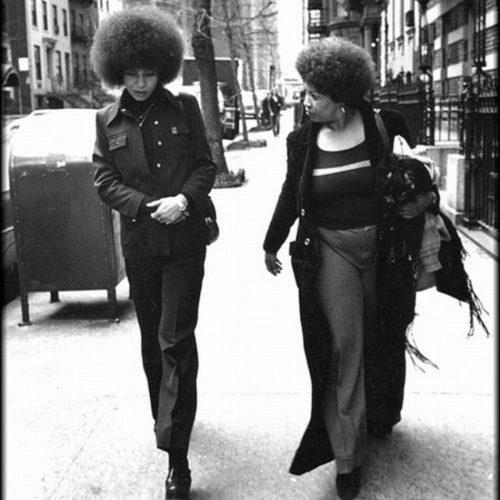 Angela Davis and Toni Morrison, 1974. Unattributed.