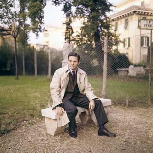 Pier Paolo Pasolini, Rome, 1967. By Franco Vitale.