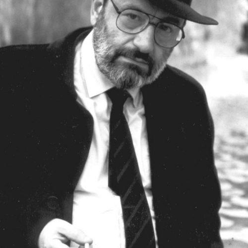 Umberto Eco. Undated, unalocated, unattributed.