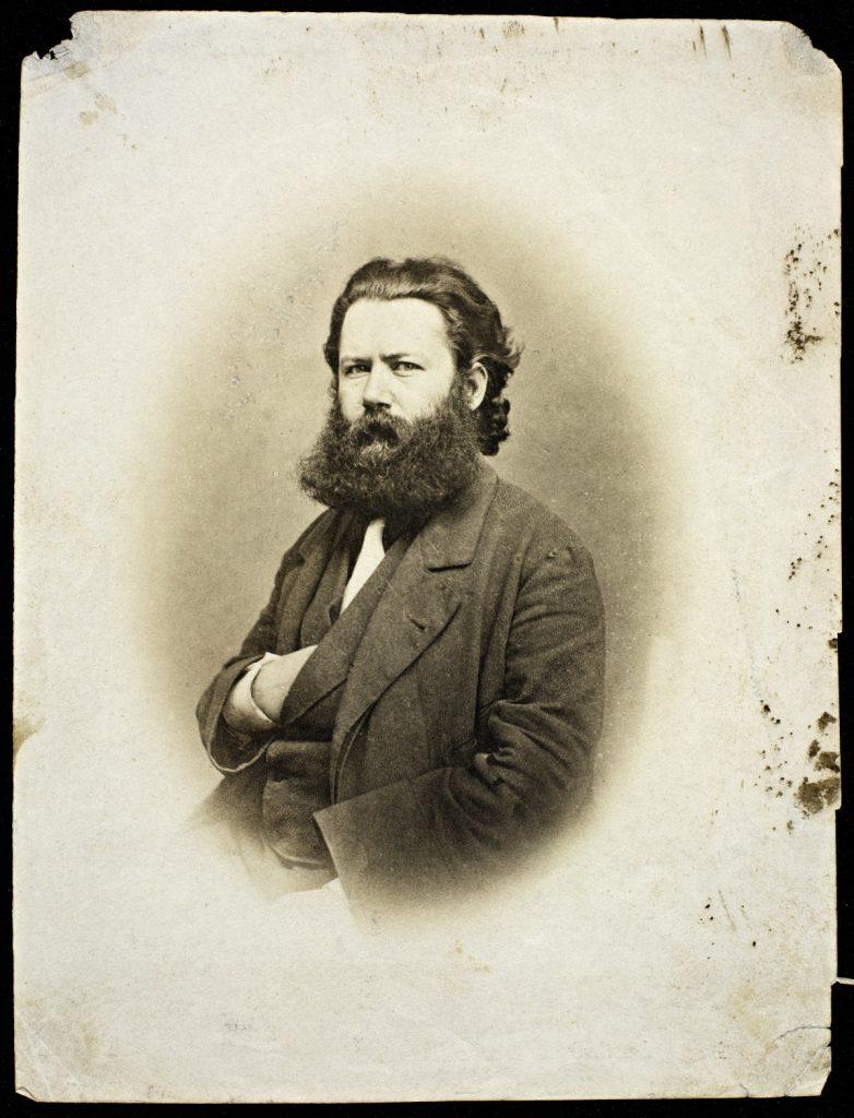 Portrett av Henrik Ibsen, 1863-64