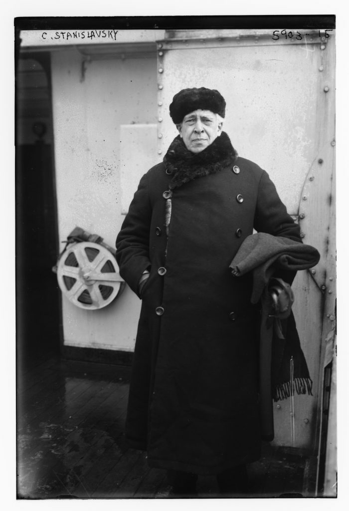 Konstantin Stanislavski, director of the Moscow Art Theatre. Undated, unlocated, unattributed. George Grantham Bain Collection.